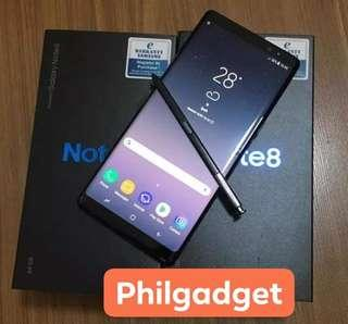 SAMSUNG NOTE8 BLACK DUAL NTC OPENLINE