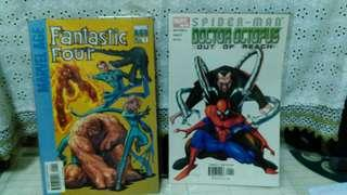 Marvel Age Fantastic Four #1 and Spiderman Doctor Octopus #1( price for one issue)