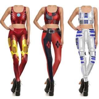 PO: Print leggings tights