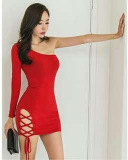 Mini dress korean fashion ladies dressing