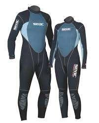 (Wrong size) M size Seac sub 3mm diving freediving spearfishing wetsuit full set male M