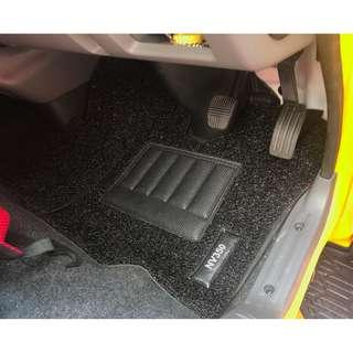 NISSAN NV350 OEM FITMENT 03 PCS FRONT DRIVER/PAX ONLY...PVC COIL MATS WITH NISSAN NV350 LOGO COLOR AVAILABLE - RED, BLACK, GREY ,BEIGE ,BROWN, GREEN & BLUE...