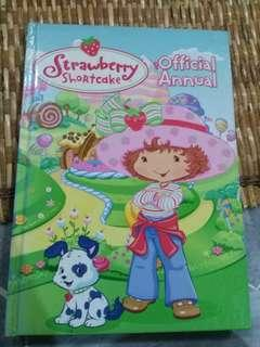Strawberry Shortcake Official Annual Book