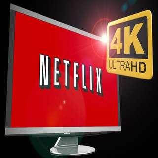 Netflix account 4K UHD