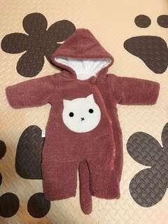 🚚 二手嬰兒連體衣秋冬款