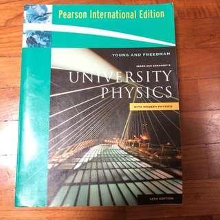 University Physics with Modern Physics (12th Ed, International Ed)