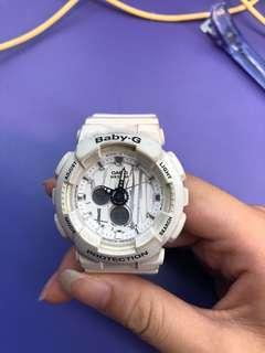 🚚 Baby G 特殊白色手錶