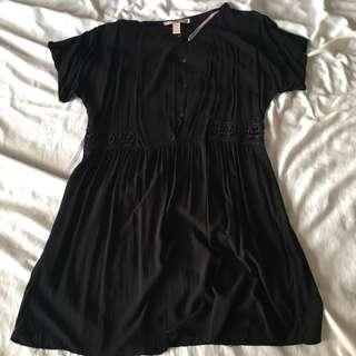REPRICED Forever 21 Black Dress