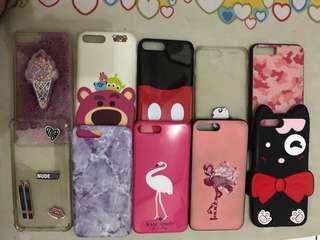 Iphone 7plus softcase borongan