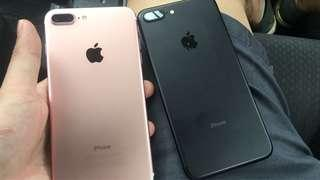 IPHONE 7+ used set . available 32gb and 128gb