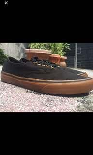 Vans Authentic Black Gum Sole US10.5