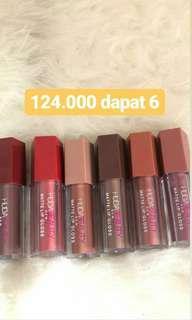 Lipcream Huda Beauty 6pcs