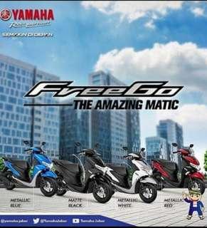 NEW Yamaha FREEGO 125cc