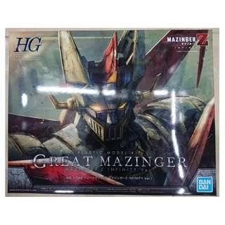 Bandai hg 1/144 鐵甲萬能俠 Mazinger Z 模型 2號