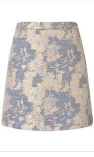 Miss Selfridge Jacquard Pastel Skirt