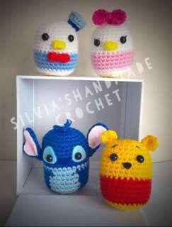 🎄 Crochet Tsum Tsum Disney