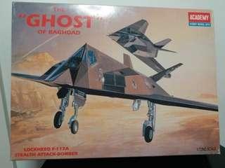 模型戰機 The Ghost of Baghdad F-117A 1:72 Scale Plastic Model Kit