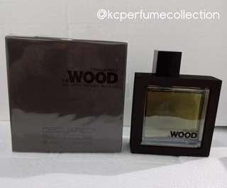 DSquared He Wood Silver Wind Wood 100ml