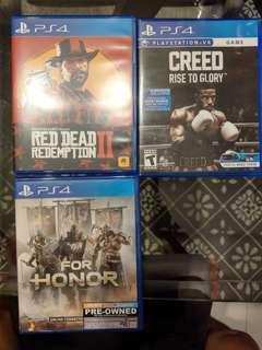 Creed VR Boxing PS4 PlayStation games