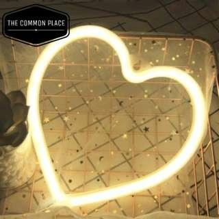 INSTOCK Heart Shape Neon LED Night Light Room Party Decor