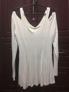Sale!Cut out blouse/long blouse
