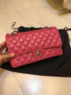 Chanel lambskin medium bag