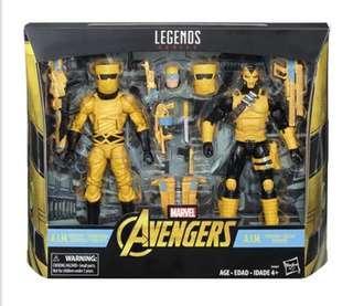 Marvel Legends - A.I.M. Scientist & A.I.M. Trooper 2-Pack (訂)