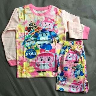 Robocar Poli Pajamas