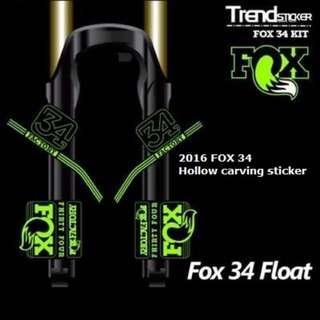 2015 FOX 34 stickers