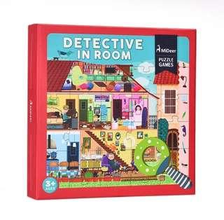 *In Stock* BN MiDeer Detective in the Room House I Spy Puzzle 42 Pcs