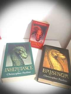 Christopher Paolini Assorted Books