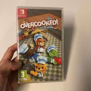 WTS- Overcooked! Nintendo Switch