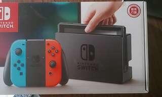 Switch主機連 4隻遊戲 9成新
