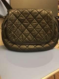 Chanel crossbody leather bag