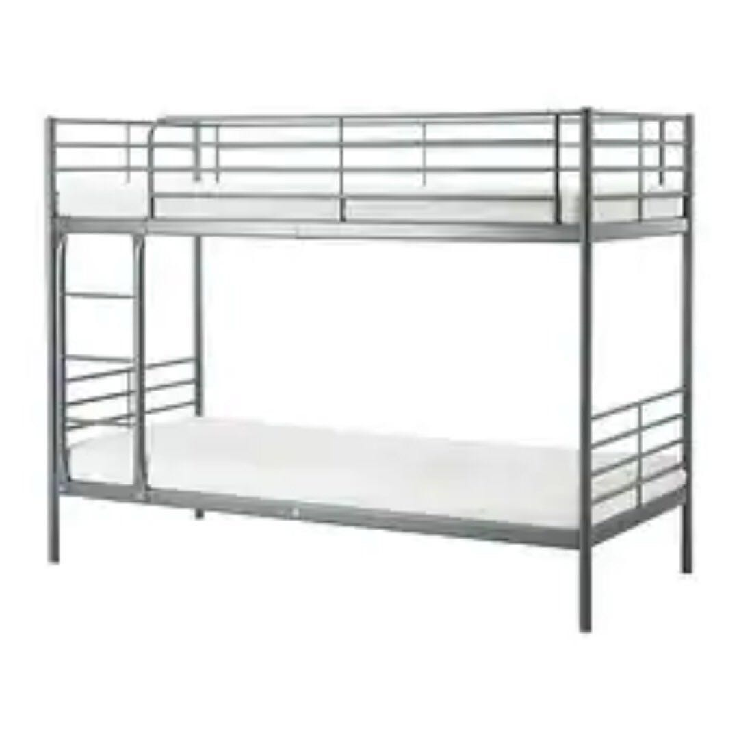 3 In 1 Offer Bunk Bed Frame Along With 2 Mattress Furniture Beds