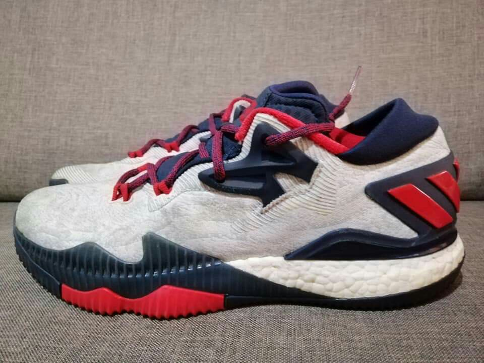 """the best attitude 75718 b8f23 adidas Crazylight Boost 2016 Low """"James Harden USA"""" PE  CarousellSneakerFest, Mens Fashion, Footwear, Sneakers on Carousell"""