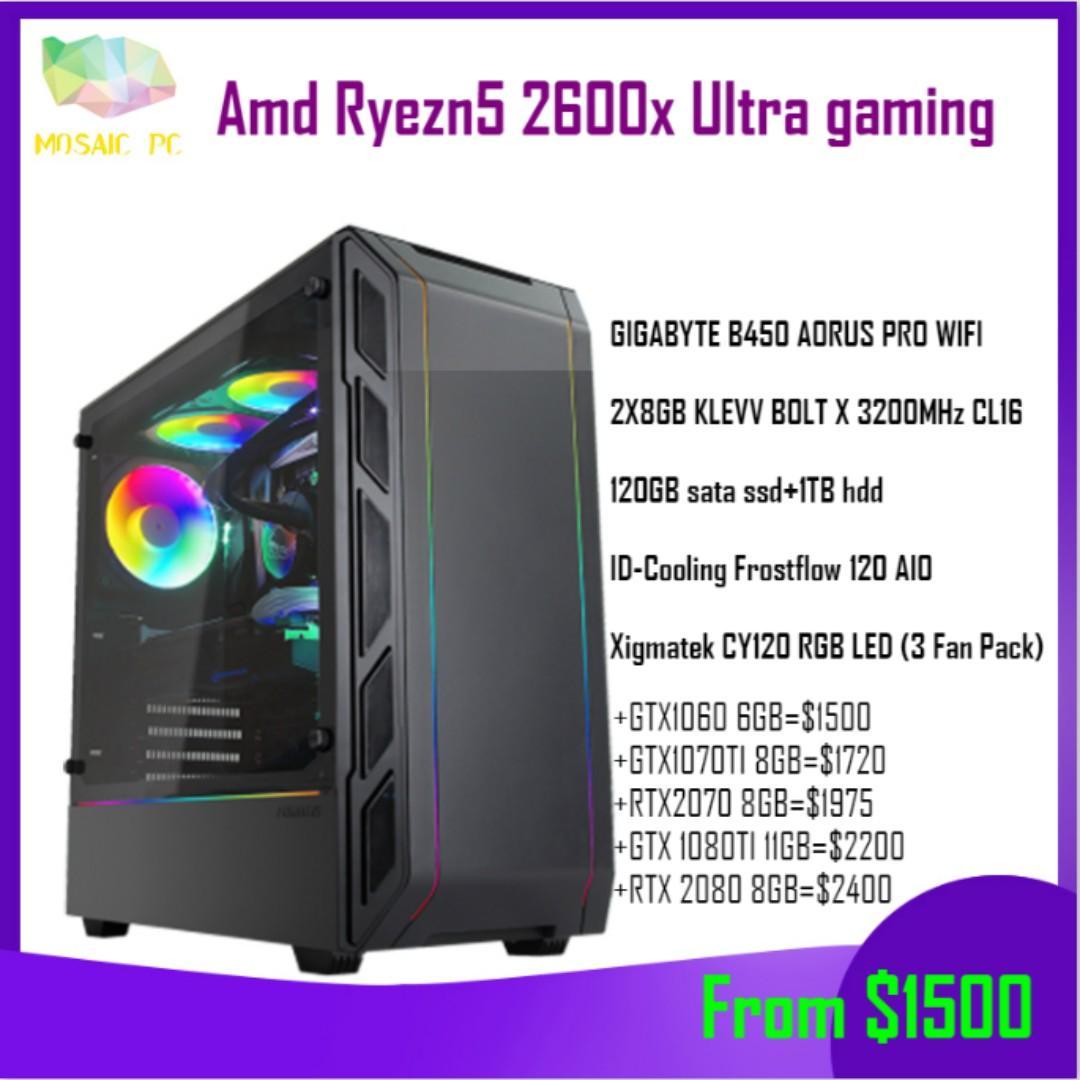 Promo!!!)Amd ryzen 5 2600x(better than i7-7700