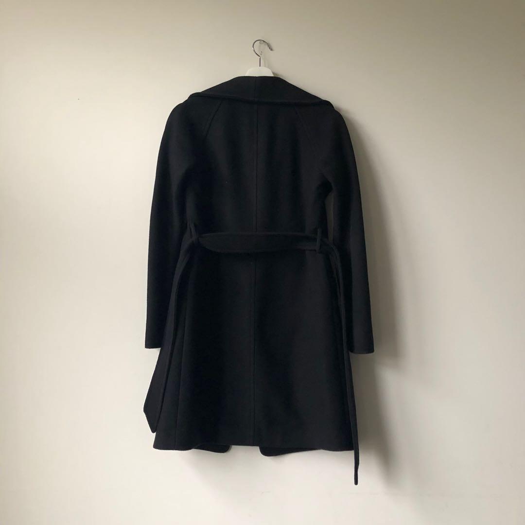 Aritzia wool cashmere coat xxs