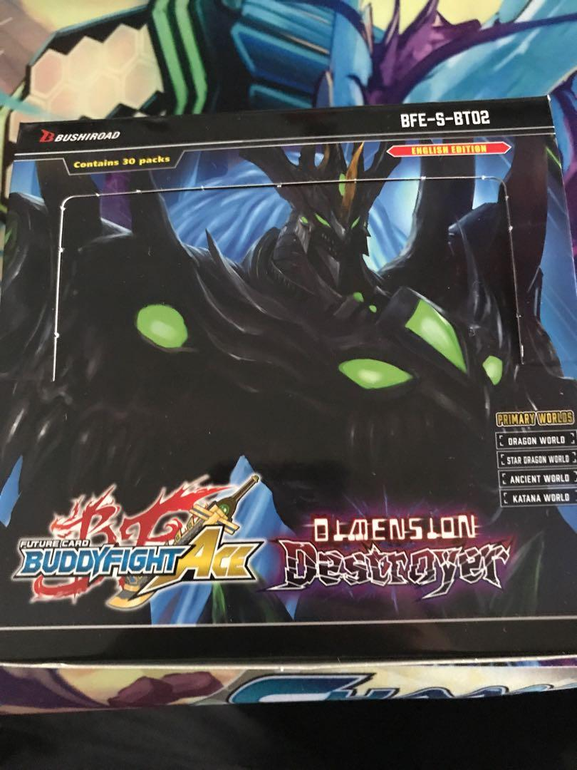 Buddyfight Ace sbt02 commons, uncommons and rares