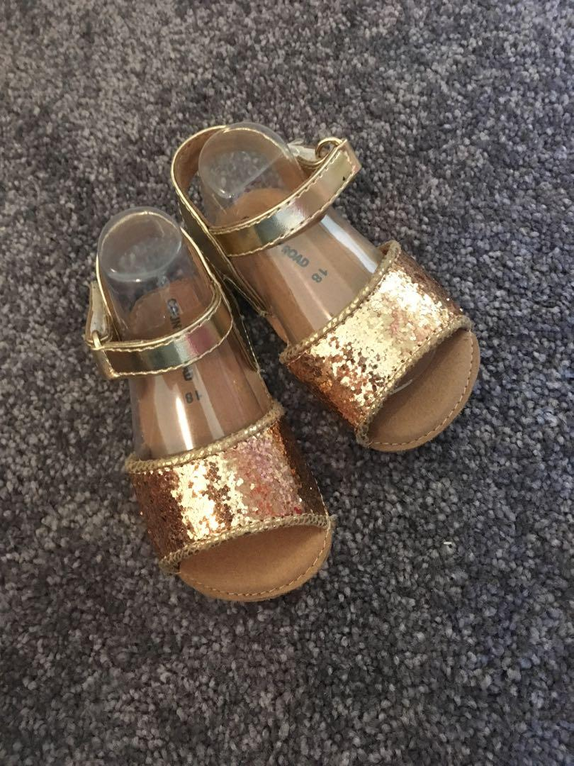 Country road baby shoes