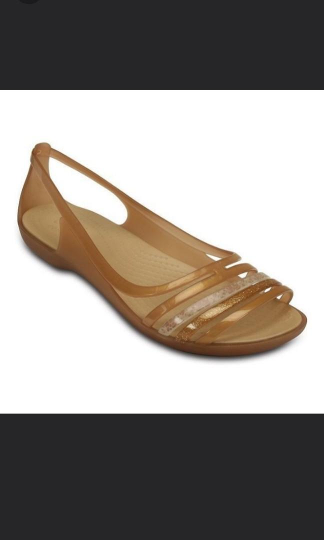 b8149e56c683 Crocs Isabella Huarache Sandals