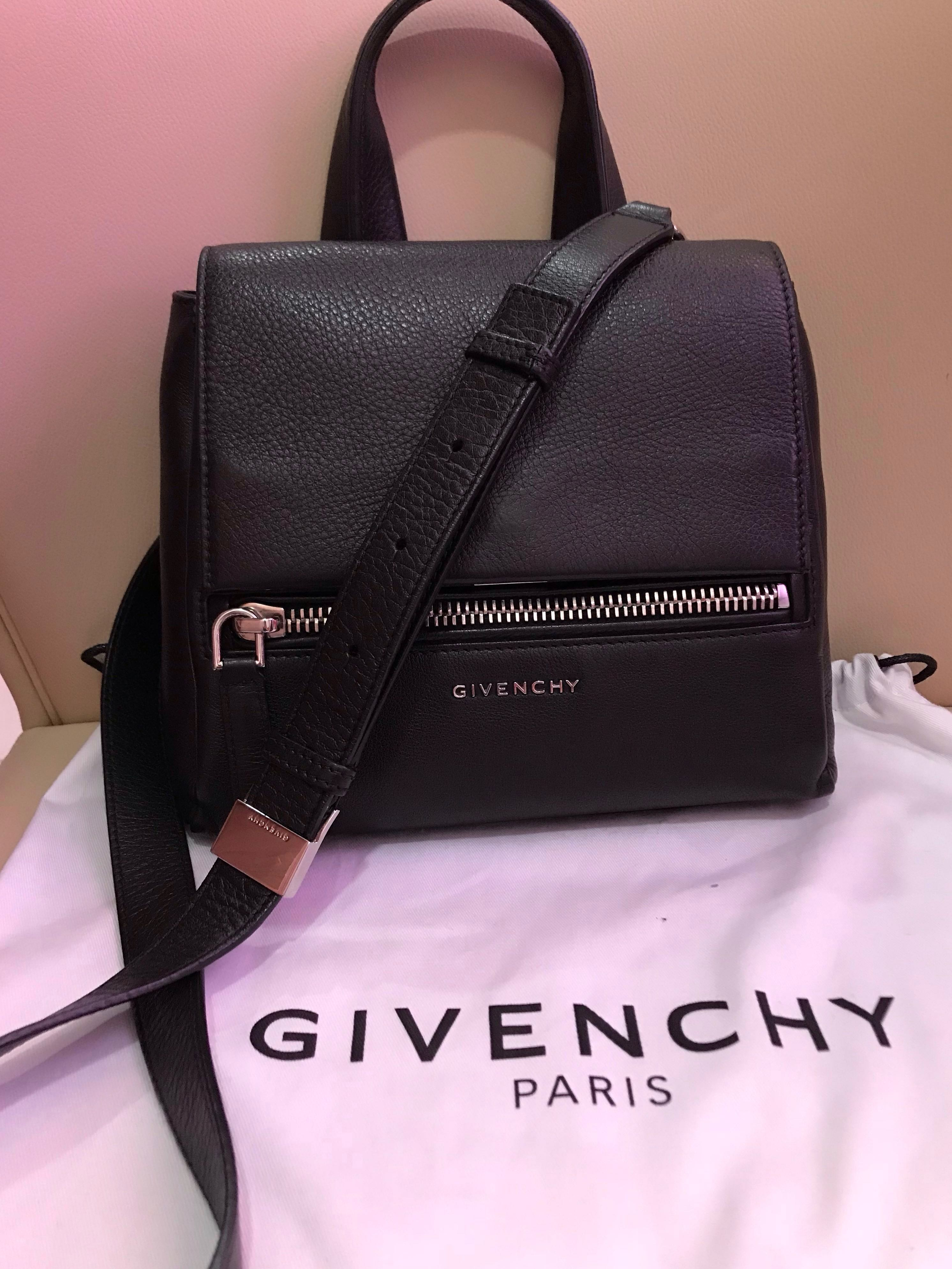Givenchy black sling bag, Luxury, Bags   Wallets, Sling Bags on Carousell 6cd269ea30