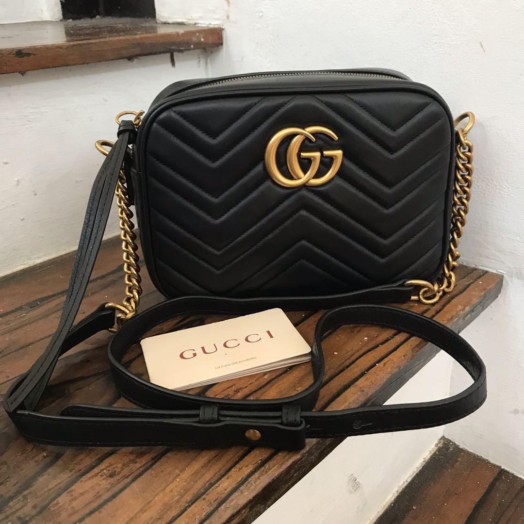 af73c7a76aec93 Gucci Marmont Sling Bag on Carousell