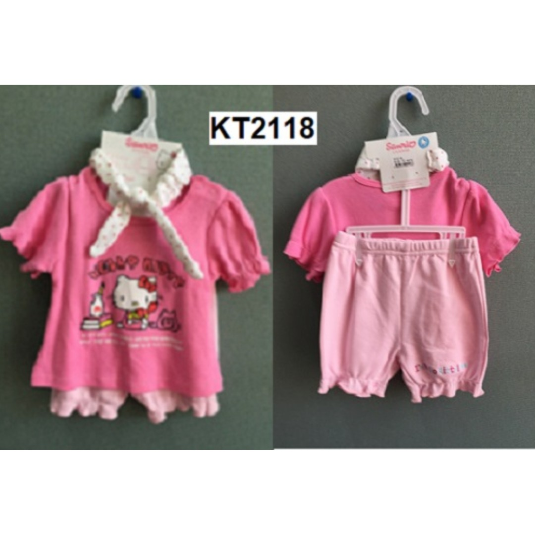 e9fdc211d Hello Kitty (Sanrio Licensed) Baby Girls Clothing (Tee Shorts ...