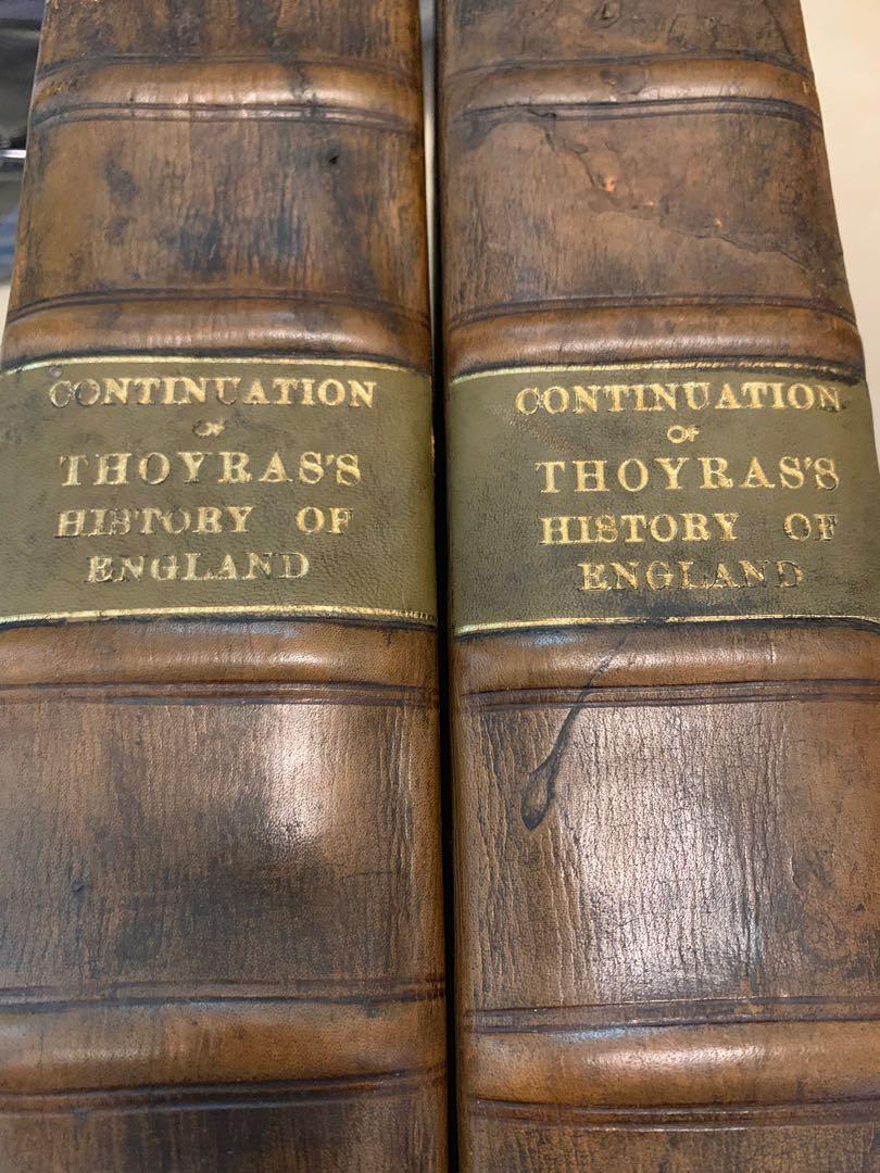 英國古書history of england 兩本