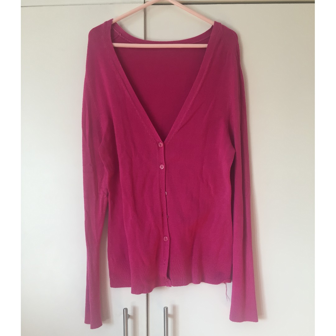 sophisticated technologies provide plenty of discount price Hot Pink Cardigan