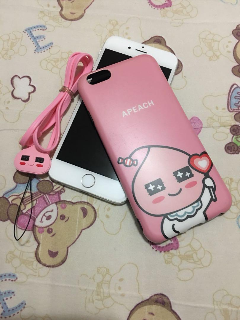 iPhone 6/6s Case 手機殻 熊大 Apeach Christmas