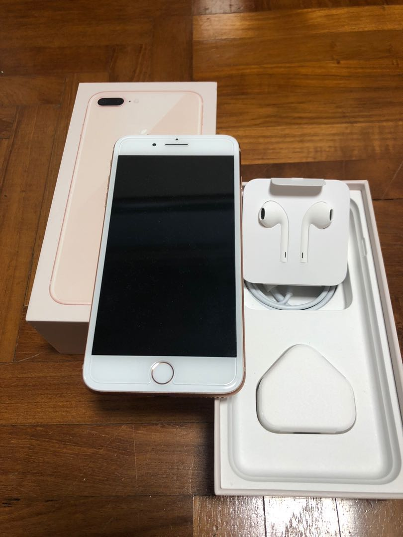 Iphone 8 Plus 64gb Rose Gold Mobile Phones Tablets