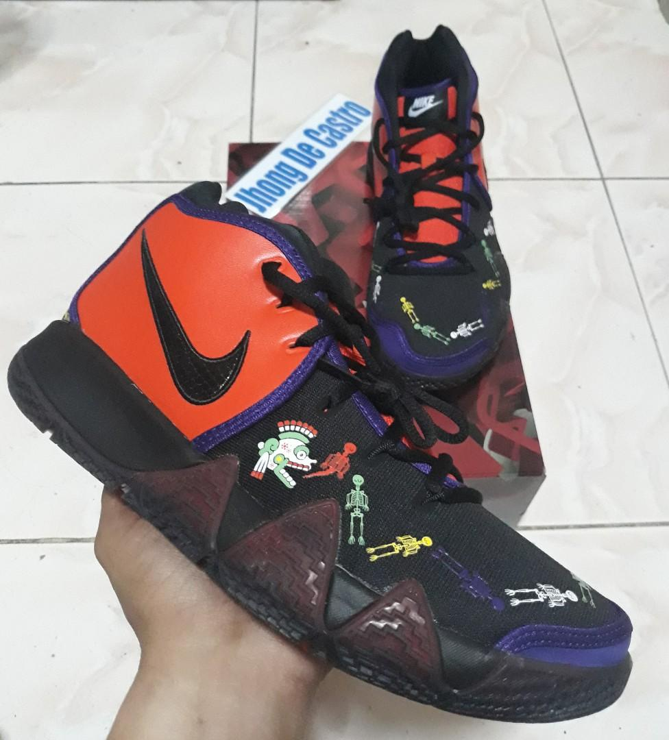 the best attitude d1eee 5e86c KYRIE 4 Day of the Dead on Carousell