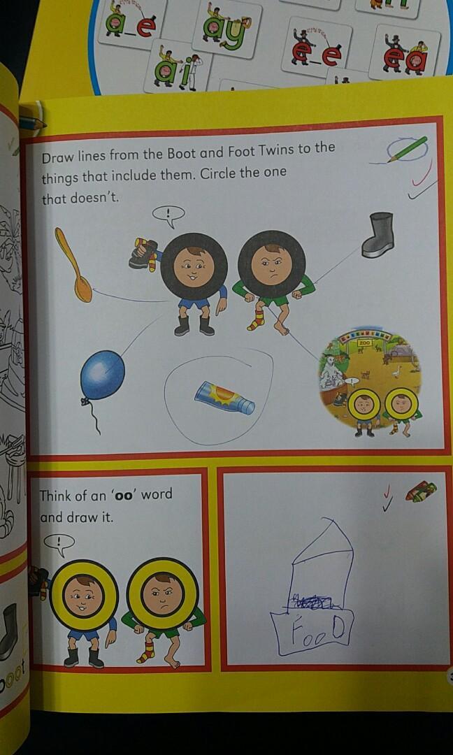 Letterland phonics book level 2